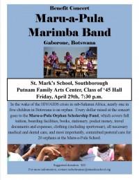 Maru-a-Pula concert flyer