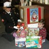 Irene Tibert collecting for Toys for Tots