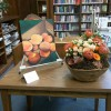 summer peaches (photo posted to Facebook by Southborough Library)