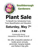 southborough gardeners plant_sale flyer