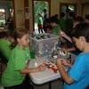 Lego building at Adventure Day Camp, Camp Resolute