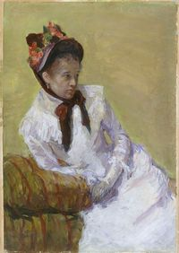 """Post image for Mary Cassatt: A look at a """"Thoroughly Modern"""" turn of the 20th century woman – Thursday"""