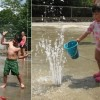 Assabet splash pad (image posted to Facebook by Northborough Recreation)
