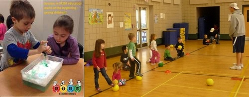 Post image for Rec fun for the preschool (and under) crowd