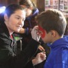 Face painting at the Chestnut Hill Farm Festival 2016 (photo by The Trustees of Reservations)