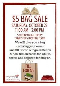Bag Sale flyer