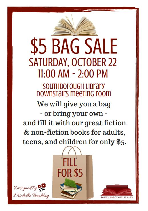 Stuff A Bag Book Sale This Saturday