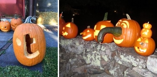 Post image for Pumpkin Wall do over – Sunday night