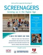 Screenagers movie times flyer
