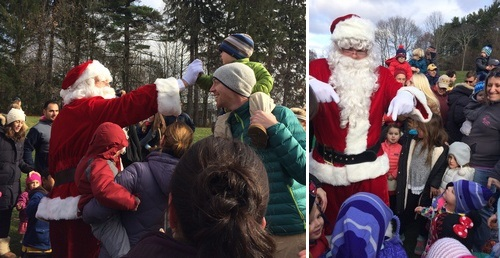 Post image for Photo Gallery: Santa's landing brings joy in Southborough