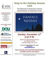 Handel's Messiah concert at Pilgrim flyer