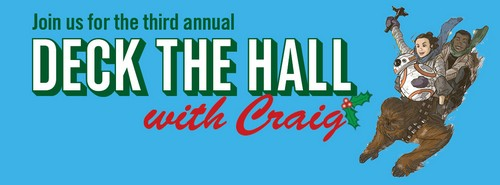 Post image for Deck the Hall of Comics: Comic book artist sketching event for charity – January 21