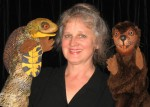 Deborah Costine and her puppets (contributed photo)