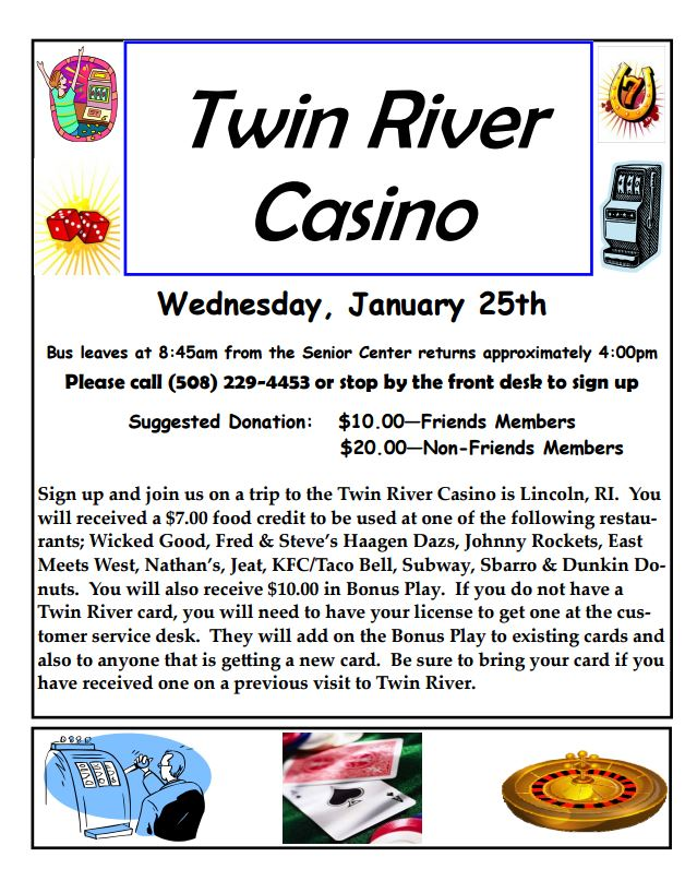 twin river casino video poker