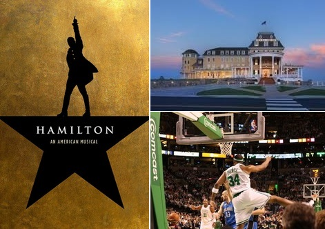 Post image for Get your Hamilton tickets here (or courtside Celtics tickets, an Ocean House overnight, and more)