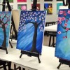 A Breast Cancer Research fundraiser will include painting Cherry Blossoms (contributed)