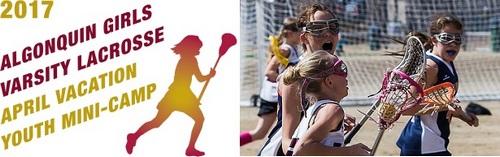 Post image for Girls mini lacrosse camp: April 17-18