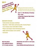 Girls Lacrosse mini camp reg form