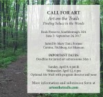 Call for Art on the Trails (cropped from Facebook)