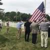 Flag ceremony senior center (contributed photo)