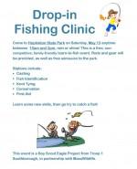 Fishing Clinic Flyer