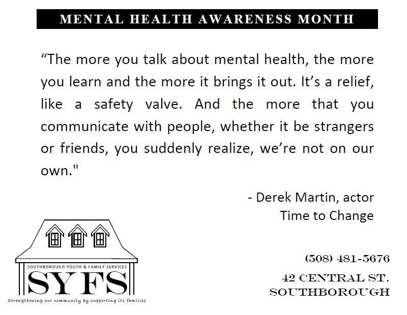 MHA Note (The more you talk about mental health)