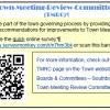 Town Meeting survey card