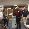 Southborough Rotary scholarship awarded to Sharon Kraft (from Facebook)