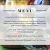 July dinner menu