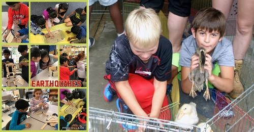 Post image for Camps week of August 7th: Architect Academy, last hurrah for morning camp with Barnyard Fun & more