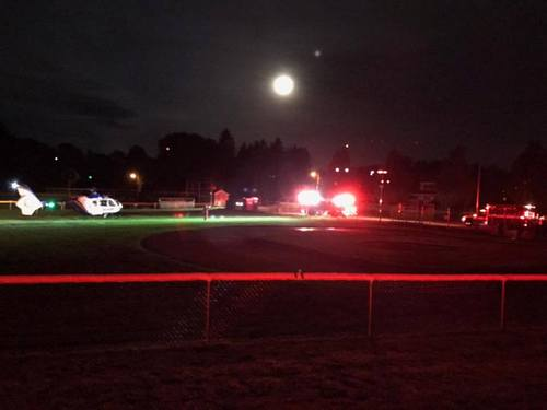 Post image for Car crash before dawn on Monday required Lifeflight transport
