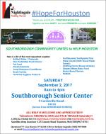 HopeforHouston drive flyer