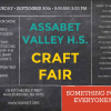 Assabet Craft Fair 2017 flyer