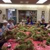 Bemis Hydrangea Wreath event at Dudley Senior Center from Facebook