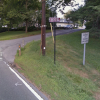 Chestnut Hill road truck exclusion sign (from Google Maps)