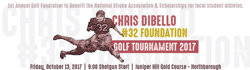 Post image for Chris Dibello Golf Tournament to benefit National Stroke Association and local student athletes