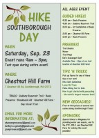 Hike Southborough Day flyer b