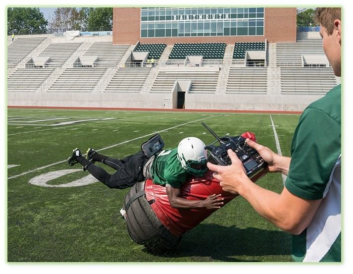 Post image for Globe: THawks Football using robotics to reduce player hits in practice