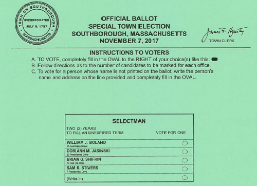 County auditor mails out ballots