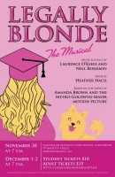ARHS Legally Blonde poster