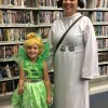 Library trick or treaters