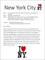NYC bus trip 2017 flyer