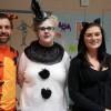 Kids weren't the only ones in costumes