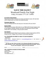 WW Family Fun Night flyer 2017