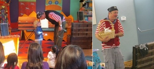 """Post image for """"Saturdays at Fay"""" invites young kids to The Awesome Pirate Show – November 18 (Updated)"""