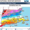 NWS forecast precipitation start march 21-22 20180320