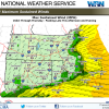 National Weather Service. sustained winds March 7-8 2018