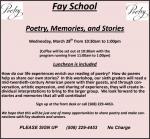 fay poetry seniors blurb