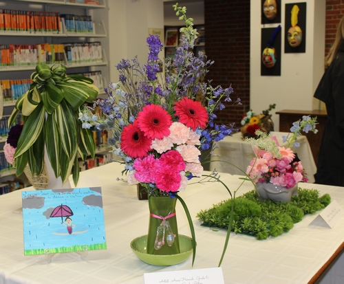 Post image for Art in Bloom at Library through Saturday