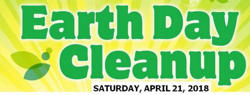 Post image for Earth Day Clean Up on Saturday, April 21
